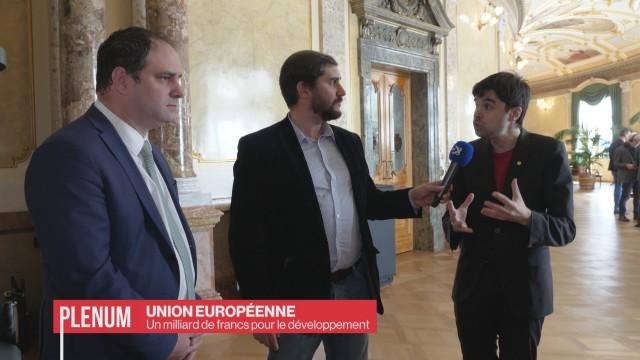 Un milliard pour le développement européen