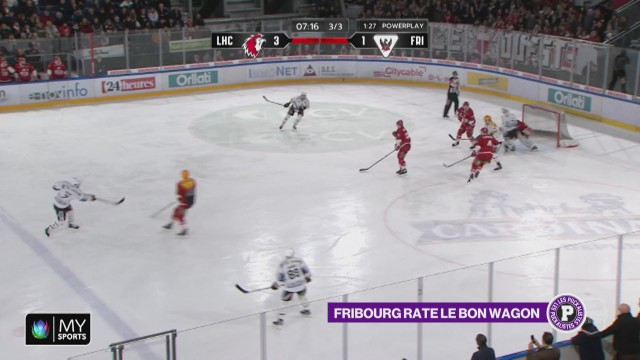 Fribourg rate le wagon des Play-off