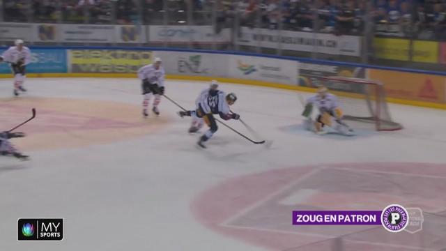 Zoug en patron contre Lugano