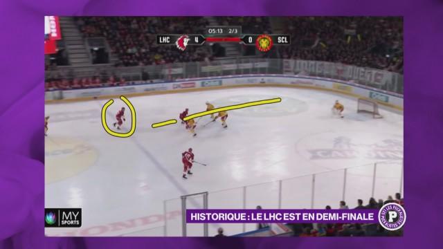 Historique ! Le Lausanne Hockey Club est en demi-finale