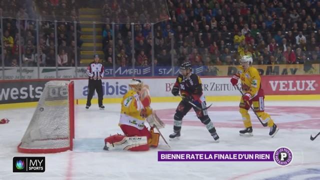 Le HC Bienne sorti en demi-finale