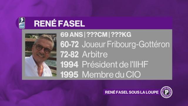 2 minutes de pénalité pour René Fasel