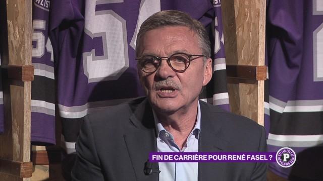 Gros plan sur la fin de carrière de René Fasel