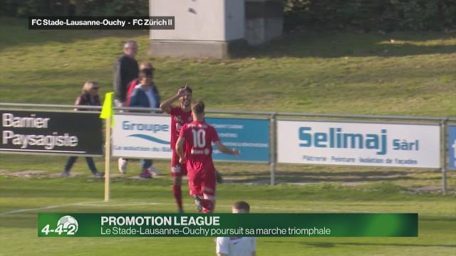 Le Stade-Lausanne-Ouchy poursuit sa marche triomphale