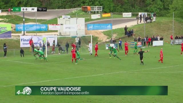 Yverdon Sport II gagne enfin la coupe