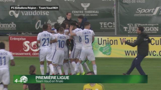 Team Vaud en finale