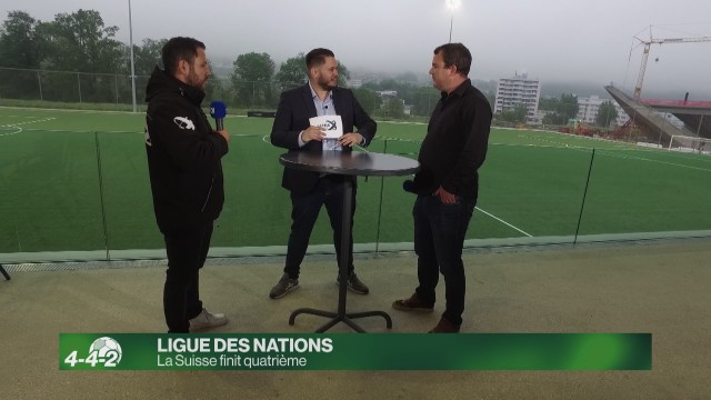 La Suisse finit 4e de la Ligue des Nations