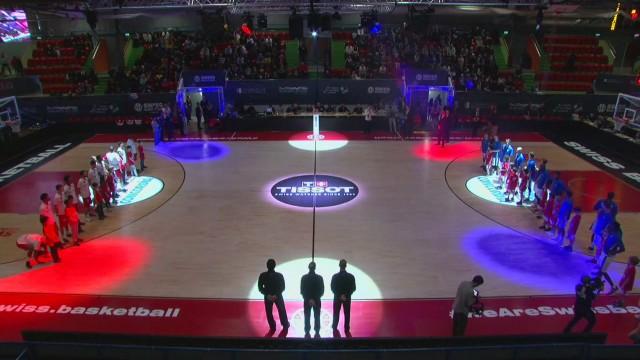SBL Cup, demi-finale, Fribourg-Massagno, première mi-temps