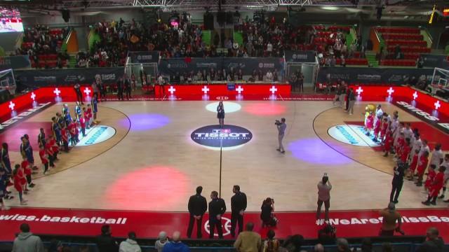 SBL Cup, demi-finale, Genève-Neuchâtel, première mi-temps