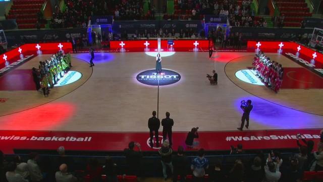 SBL Cup, finale féminine Elfic-Genève, la première mi-temps