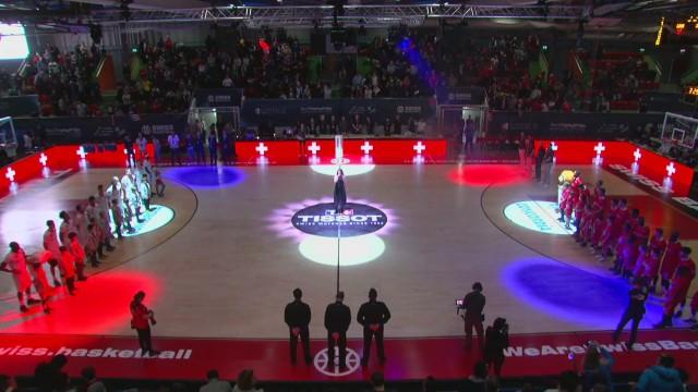 SBL Cup, finale hommes Genève-Massagno, la première mi-temps