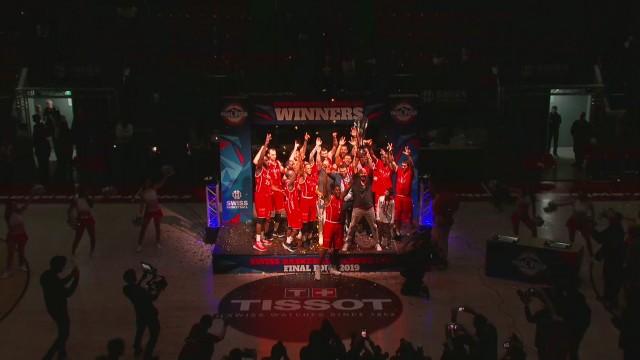 SBL Cup, finale hommes Genève-Massagno, la fin du match