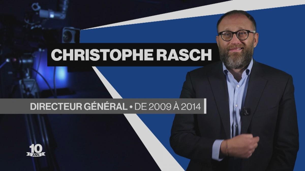 La Télé fête ses 10 ans avec Christophe Rasch