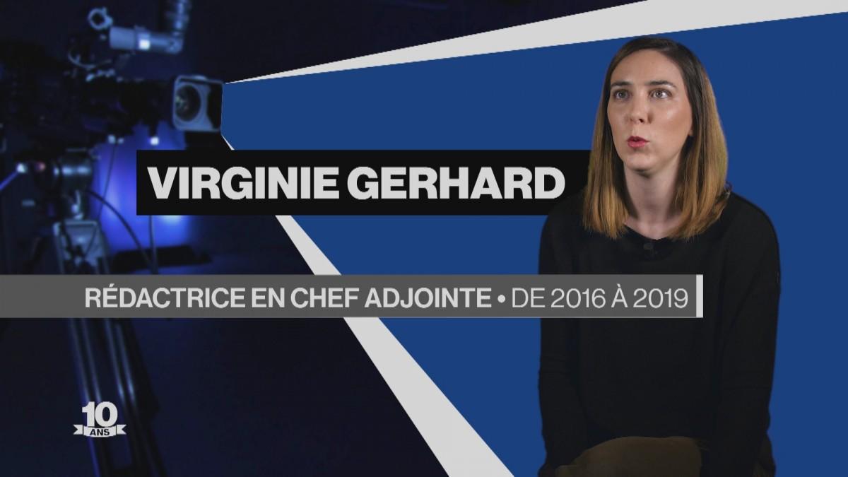 La Télé fête ses 10 ans avec Virginie Gerhard