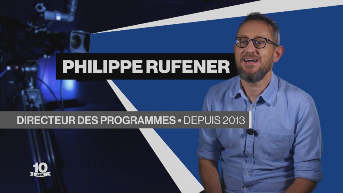 La Télé fête ses 10 ans avec Philippe Rufener