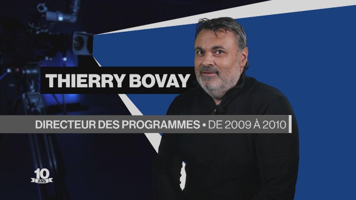 La Télé fête ses 10 ans avec Thierry Bovay