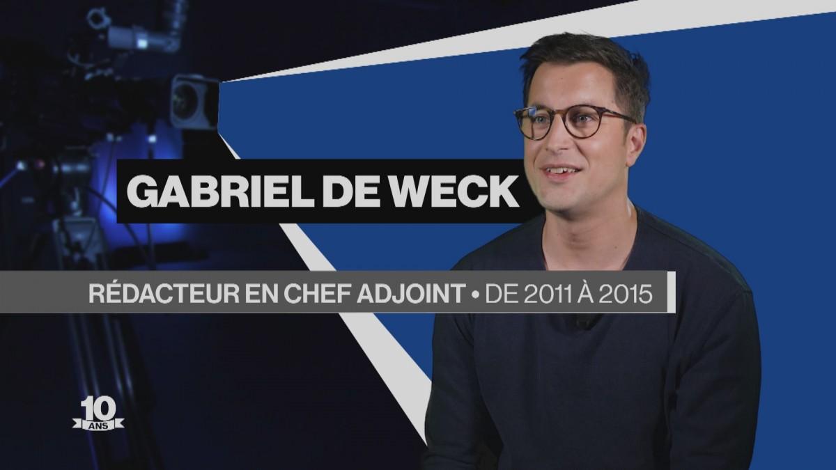 La Télé fête ses 10 ans avec Gabriel de Weck