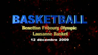 Match de basket Fribourg-Lausanne seconde mi-temps