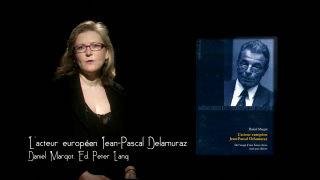 Marque-page - L'acteur européen Jean-Pascal Delamuraz