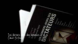 Marque-page - Les deniers jours des dictateurs