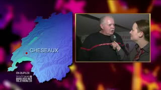 A Cheseaux avec Charles Gujer