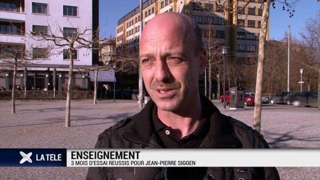 Le syndicat des enseignants satisfait de Jean-Pierre Siggen