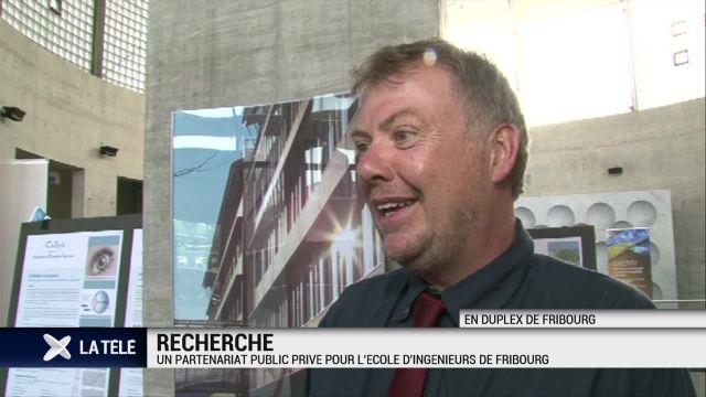 Fribourg: partenariat public-privé pour l'Ecole d'ingénieurs