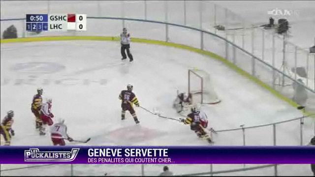 Genève Servette : des pénalités qui coûtent cher…