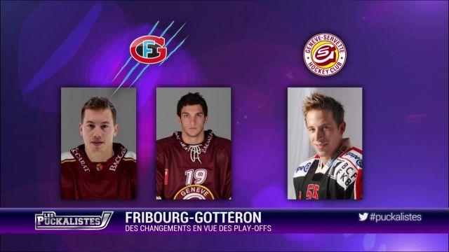 Fribourg Gottéron : des changements en vue des playoffs