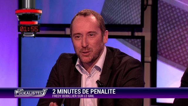 2 minutes de pénalité : Fredy Bobillier sur le gril