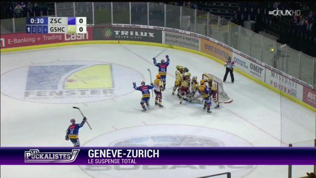 Genève - Zurich : le suspense total