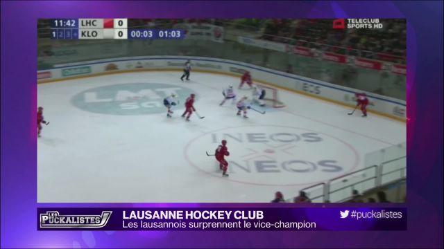 Lausanne HC: les lausannois surprennent le vice-champion