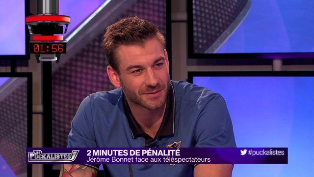 2 minutes de pénalité : Jérôme Bonnet face aux supporters