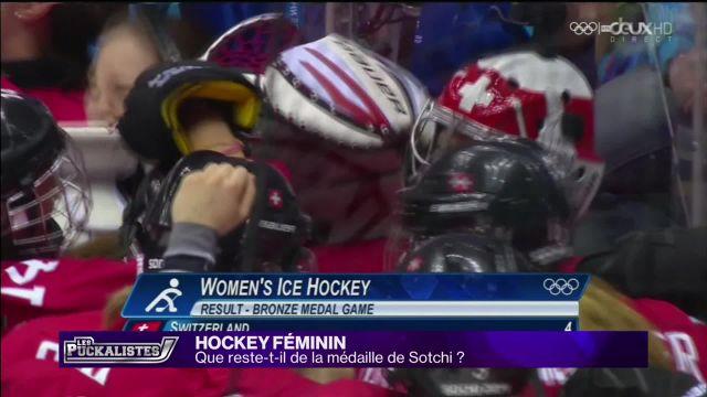 Hockey féminin : que reste-t-il de la médaille de Sotchi ?