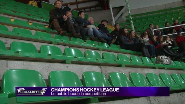Champions Hockey League : Le public boude la compétition