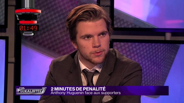 2 minutes de pénalité : Anthony Huguenin face aux supporters