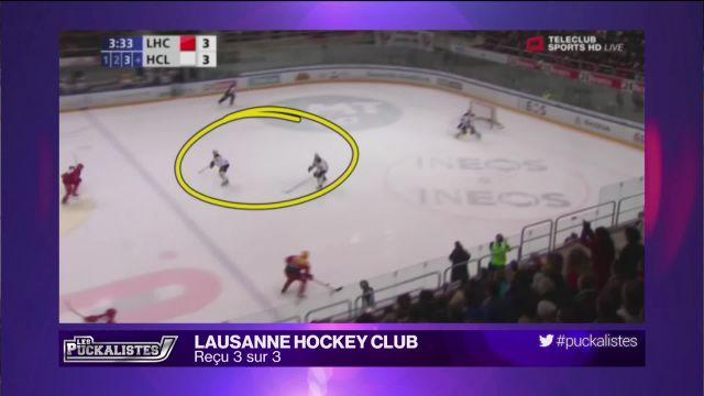 Lausanne HC : Reçu 3 sur 3