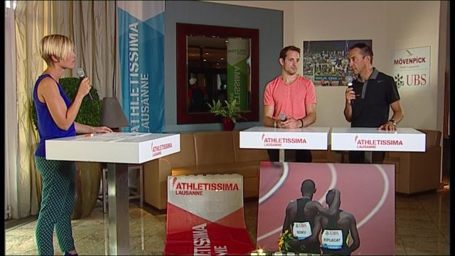 Athletissima : Au coeur du meeting - Emission 1
