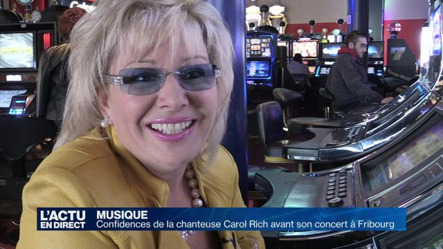 Confidences de la chanteuse Carol Rich avant son concert