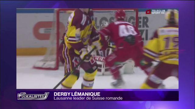 Derby lémanique : Lausanne leader de Suisse Romande