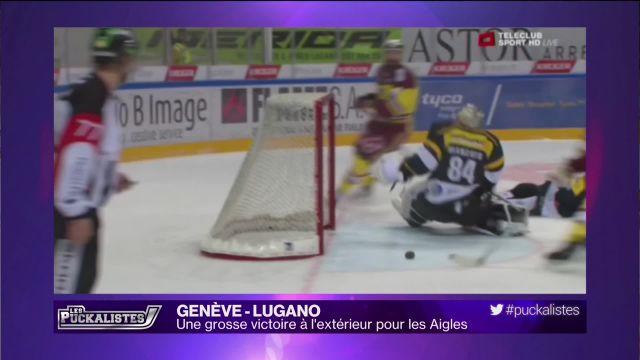 Genève–Lugano: Une grosse victoire pour les Aigles