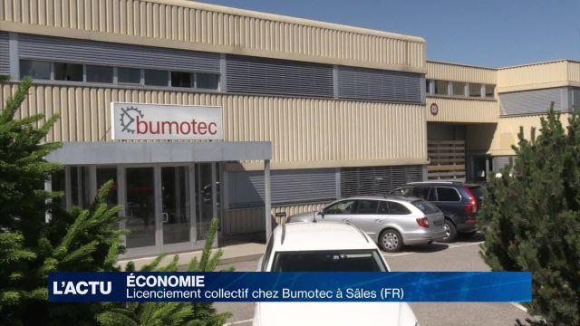 Sâles (FR): licenciement collectif chez Bumotec