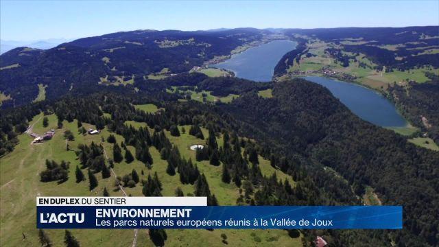 Les parcs naturels européens réunis à la Vallée de Joux
