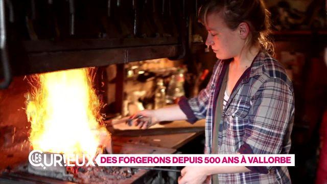 Des forgerons depuis 500 ans à Vallorbe