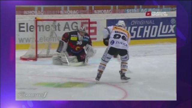 L'actu du hockey: un super but de Damien Brunner