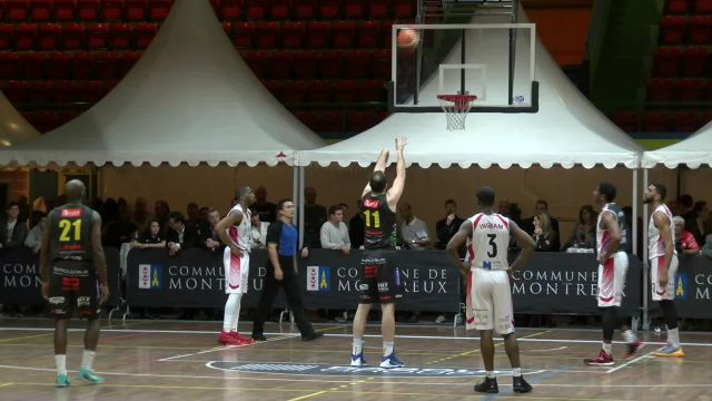 Coupe de la Ligue: Demi-finale Genève - Monthey 1-3