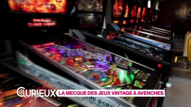 La Mecque des jeux vintage à Avenches