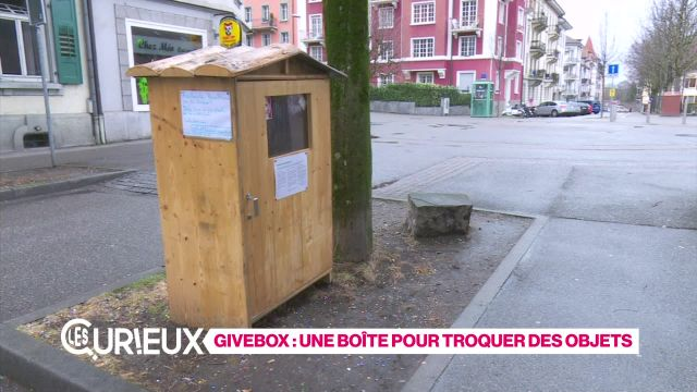 Une Givebox à Fribourg