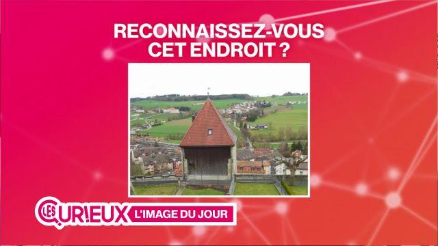 Une tour datant du quatorzième siècle à Romont