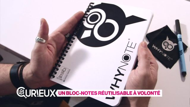Un bloc-notes réutilisable à volonté